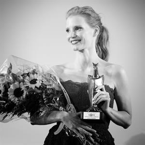 Jessica Chastain - Giffon Film Festival, Italy 7/21/13