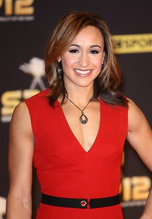 Jessica Ennis at the BBC Sports Personality of the Year Awards in London on December 16, 2012