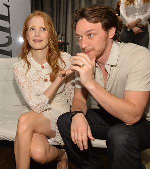 Jessica Chastain Variety Studio at the Toronto International Film Festival - September 9, 2013