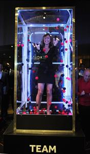 Jessica Ennis Genting Casino - October 4, 2012
