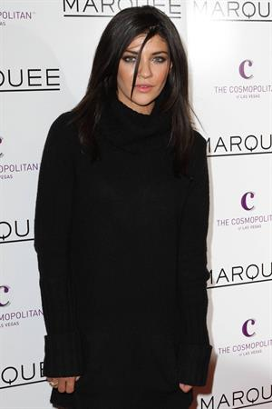 Jessica Szohr attends the grand opening of the Marquee Nightclub in the Cosmopolitan on December 30, 2010 in Los Angeles