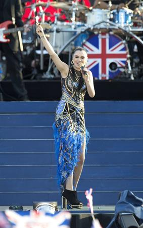 Jessie J - Performing at Queen Diamond Jubilee Concert in London, June 4, 2012