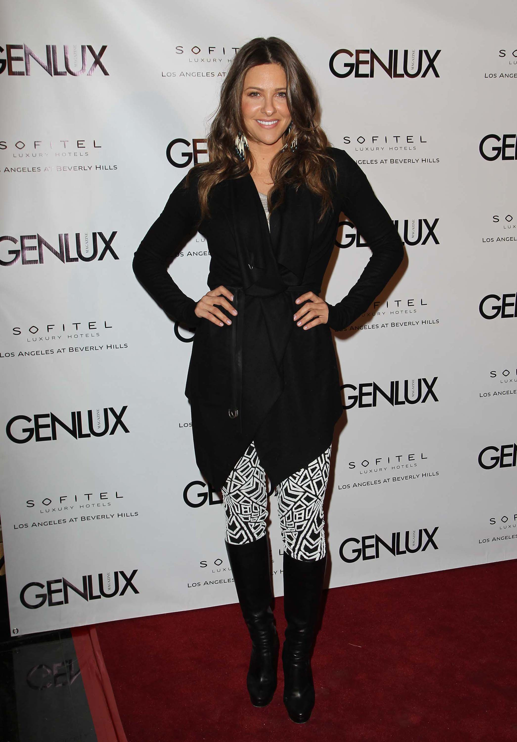 Jill Wagner New Bar Riviera 31 opening in Beverly Hills 1/15/13