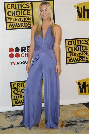Kaley Cuoco attending the Choice Television Awards luncheon at Beverly Hills Hotel on June 20, 2011