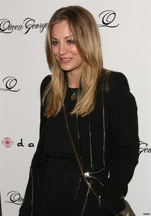 Kaley Cuoco Jodi Lyn Okeefes jewelry collection show studio city on January 23, 2012