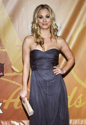 Kaley Cuoco attending the American Country Awards 2010 on December 6, 2010