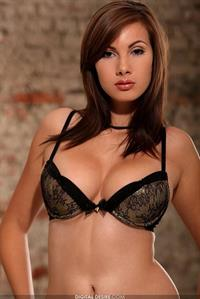 Connie Carter in lingerie