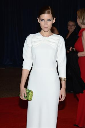 Kate Mara White House Correspondents' Association Dinner in Washington, D.C. 4/27/13