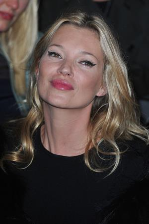 Kate Moss Christian Dior Fashion Show during Paris Fashion Week October 1, 2010
