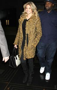Kate Upton arrives at Late Night with Jimmy Fallon in NYC on February 25, 2013