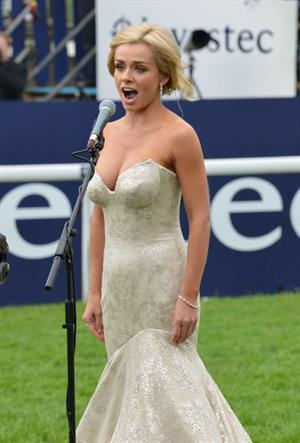 Katherine Jenkins - Investec Derby Festival in Epsom England (June 2, 2012)