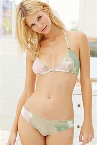 Nadine Leopold in lingerie