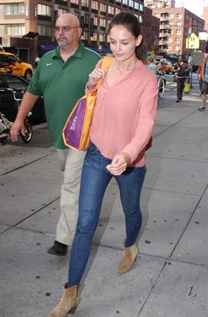 Katie Holmes in New York - July 6, 2012