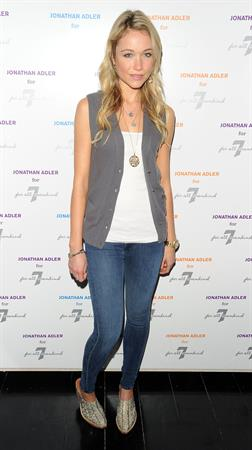 Katrina Bowden attends the Jonathan Adler for 7 for All Mankind launch celebration on May 12, 2010