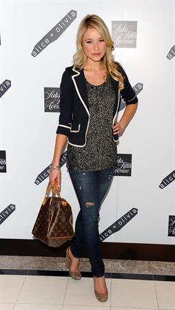 Katrina Bowden Alice Olivia launch party at Saks Fifth Avenue on March 18, 2010