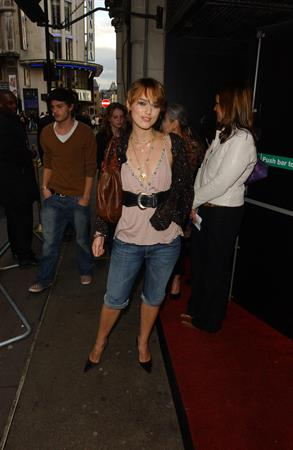 Keira Knightley -  The Jacket  UK screening 5/9/05