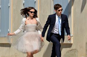 Keira Knightley Wedding ceremony in France - May 4, 2013
