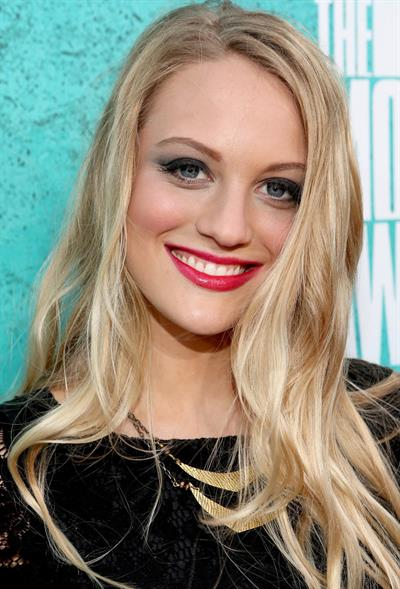 Kirby Bliss Blanton - 2012 MTV Movie Awards (Arrival) in Universal City (June 3, 2012)