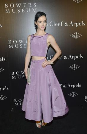 Krysten Ritter A Quest for Beauty exhibit in Santa Ana, October 26, 2013