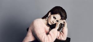 Lana Del Rey H&M Winter 2012 Photoshoot