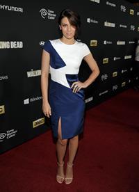 Lauren Cohan  The Walking Dead  Season 4 Premiere - Universal City, Oct. 3, 2013