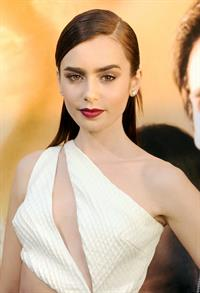 Lily Collins The Mortal Instruments City Of Bones Premiere LA 8/12/2013