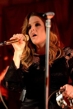 Lisa Marie Presley Performs on stage at Bush Hall in London, England (October 4, 2012)