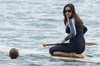 Liv Tyler - wetsuit candids in Hawaii 1/2/13