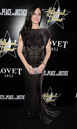 Madeleine Stowe Domino & Bovet 1822 Gala in Hollywood 2/21/13
