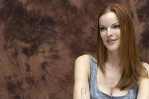 Marcia Cross Desperate Housewives Press Conference Photocall on September 28, 2007