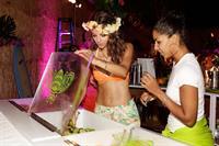 Maria Menounos at her C. Wonder & Patron Tequila sponsored birthday party in LA 6/8/13