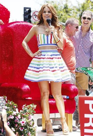 Maria Menounos LA Gay Pride Festival in West Hollywood on June 9, 2013
