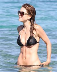 Maria Menounos Wearing a bikini at a beach in Greece on June 19, 2013