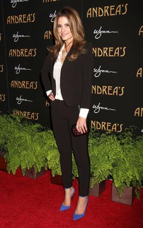 Maria Menounos Andrea's Grand Opening at Wynn in Las Vegas 1/16/13
