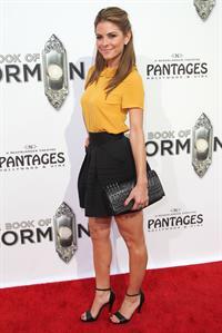 Maria Menounos - The Book of Mormon Premiere in LA Sept 12, 2012