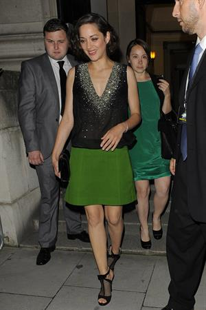 Marion Cotillard -  The Dark Knight Rises  European Premiere in London (July18, 2012) - Afterparty