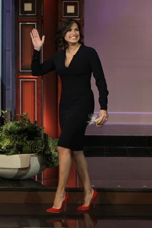 Mariska Hargitay  The Tonight Show With Jay Leno  - Season 22 - Nov. 8, 2013