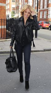 Mena Suvari outside the BBC Radio One studios October 4, 2012