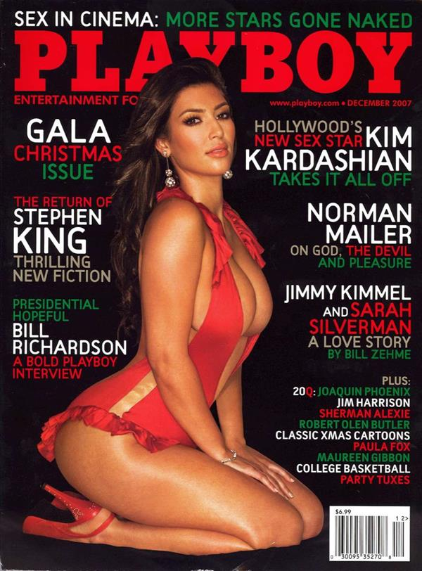 Kim Kardashian Playboy Cover