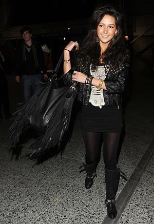 Michelle Keegan Jingle Bell Ball Manchester December 1, 2010