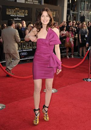 Michelle Monaghan World premiere of Iron Man 2 on April 26, 2010 in Hollywood California