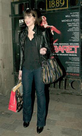 Michelle Ryan The Savoy Theatre in London - October 4,2012