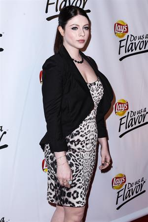 Michelle Trachtenberg Lay's 'Do Us A Flavour' contest at Beso in Hollywood 5/6/13