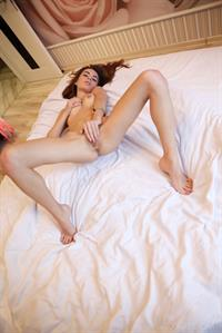 Debora A portrays a seductive coed showing off her libidinous personality in bed