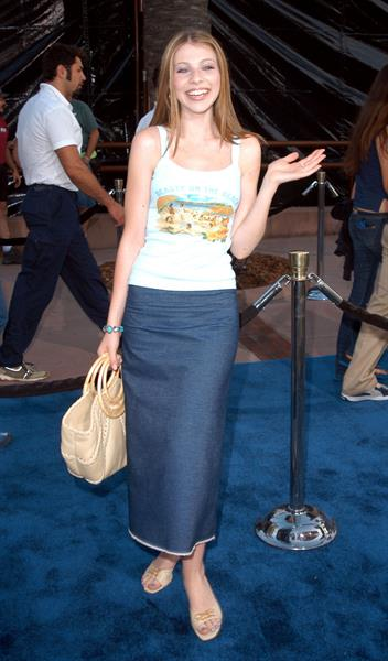Michelle Trachtenberg -  Blue Crush  Premiere 8/8/02