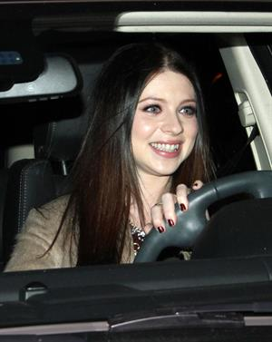 Michelle Trachtenberg dinner at Madeo in West Hollywood 1/28/13