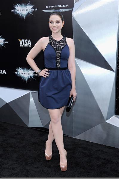 Michelle Trachtenberg - The Dark Knight Rises premiere in New York - July 16, 2012