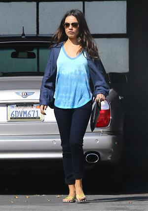 Mila Kunis out and about in Beverly Hills 2/18/13