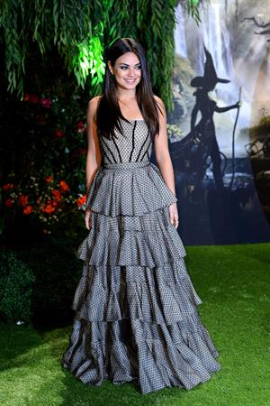 Mila Kunis Attends the UK premiere of Oz the Great & Powerful at Empire Leicester Square in London on February 18, 2013