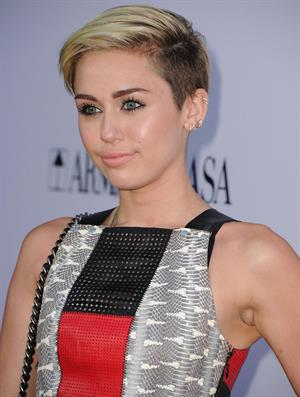 Miley Cyrus  Paranoia  Los Angeles Premiere -- Aug. 8, 2013